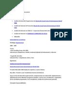 Analista desarrollo organizacional