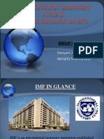 IMF &; SDR