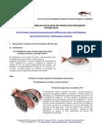 MEI 610 - Proceso de Congelado en Planta de Productos Pesqueros Congelados