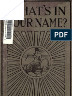 Clifford W. Cheasley (1916) - Whats in Your Name - The Science of Letters and p