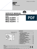 MXZ A18 32WV Service Manual
