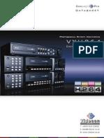 VXH264 DVR Datasheet