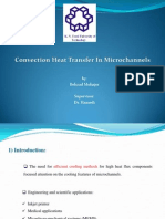 Convection Heat Transfer in Micro-channels