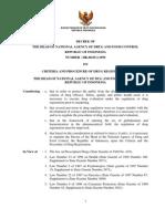Indonesia Regulatory Guidance