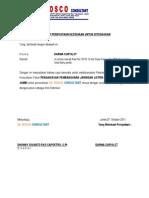 Surat Pernyataan Kesediaan Untuk Ditugaskan