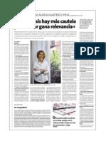 Entrevista a Ana María Martínez- Pina, Directora del ICAC
