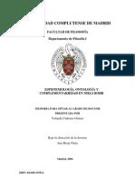 Epistemologia y Ontologia en La Fisica Cuántica