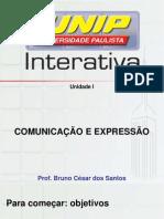 Comunicação e expressão I