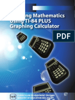 Learning Mathematics Using TI-84 Plus GC