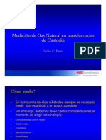 Medicion de Gas Natural