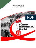 Formulir Pendaftaran FIM 10