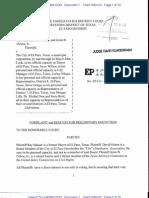 Salazar El Paso Lawsuit