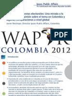 Veda a las encuestas electorales Una mirada a la situación y la opinión sobre el tema en Colombia y algunas comparaciones a nivel global