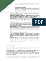 ADMINISTRACIÓN DEL CONTROL DE PÉRDIDAS