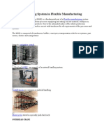 Material Handling System in Flexible Manufacturing