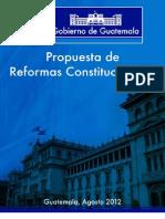 Prop Uest a de Reform as Constitucion a Les