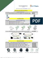 Listado de Producto Linea Avtek_2012_10