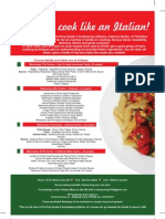 Cookery Flyer