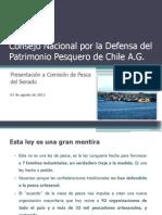 Comisión Nacional de Defensa del Patrimonio Pesquero Artesanal presentación a Comisión de Pesca del Senado_versión(1)
