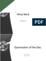 Filmy Nerd Prelims and Finals