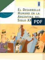 El Desarrollo Humano en La Argentina Del Siglo XXI