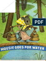 Mousie Goes For Water. Lithuanian Rhymes