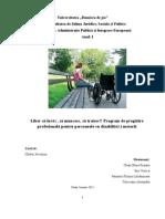 Proiect Managementul Proiectelor Europene