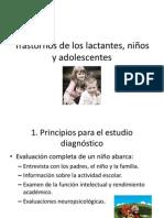 3.2.Trastornos de los lactantes, niños y adolescentes