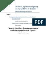 Romero Larra±aga - Cuentos Historicos Leyendas Antiguas Y Tradiciones