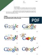Le LOGOTYPE analyse et réalisation - Google