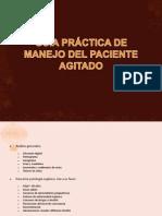 GUÍA PRÁCTICA DE MANEJO DEL PACIENTE AGITADO