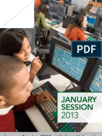 Hofstra University January Sessions Bulletin