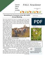 Fall 2006 Kansas Native Plant Society
