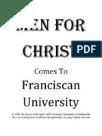 MEN FOR CHRIST at Franciscan University of Steubenville
