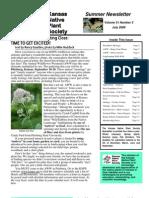 July 2009 Kansas Native Plant Society