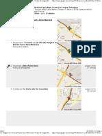 Av. Hangares de Aviación Fuerza Aérea Mexicana a Centro de Lenguas Extranjeras - Google Maps - mapas