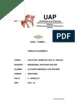 Trabajo Academico Derecho Civil III - Reales