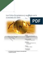 Los Ciclos Económicos y su efecto en la economía de Chile