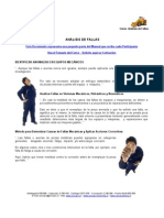 MEI 782 - Análisis de Fallas
