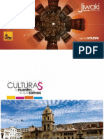 Agenda Cultural Jiwaki - Oct 2012