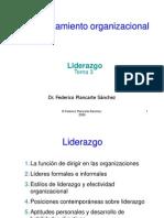 El Liderazgo Organizacional