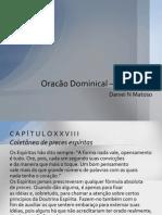 Oracão Dominical – Pai Nosso