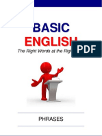 Basic English Phrases