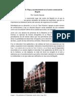 Informe de terreno etnografía (San Victorino) por Camilo Naranjo