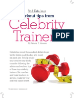 Celebrity Trainers 2012