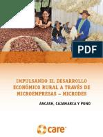 Impulsando el Desarrollo Económico Rural a través de Microempresas – MICRODES