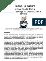 Galeano, la basura y el Reino de Dios