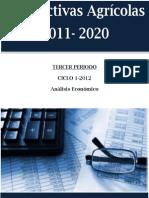 Perspectivas Agricolas 2011-2020