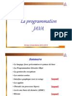 2 Cours Java Base Syntaxe