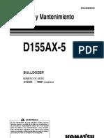 D155AX-5B EUROPE (Esp) Manual de Operacion y Mtto